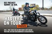 Harley on Tour - Café Racer Meeting am 1. Mai in Ratzeburg